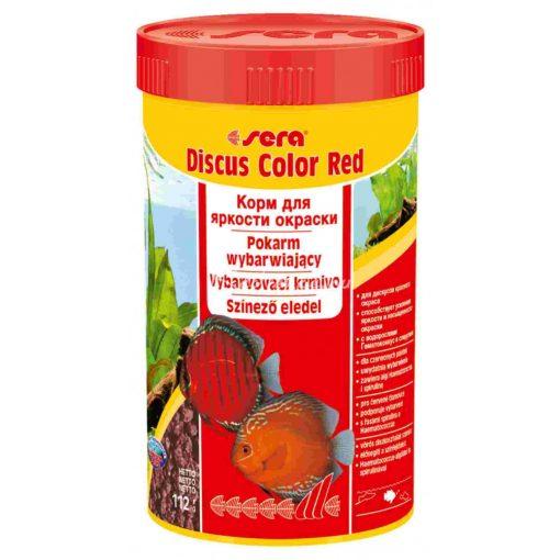 Sera Discus Color Red Diszkoshal eledel 250ml