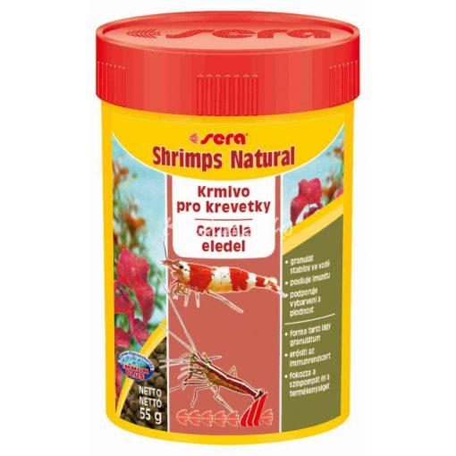 Sera Shrimps Natural Garnélarák Eledel 100 ml