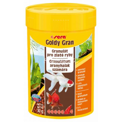 Sera Goldy Gran Aranyhal eledel 100ml