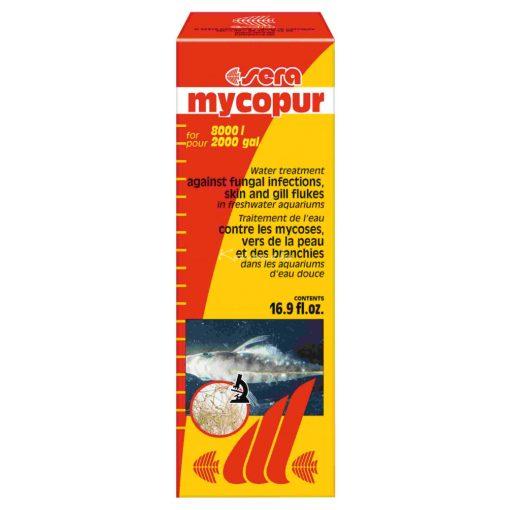 Sera Mycopur Akváriumi Gyógyszer 500ml 8000 liter vízhez