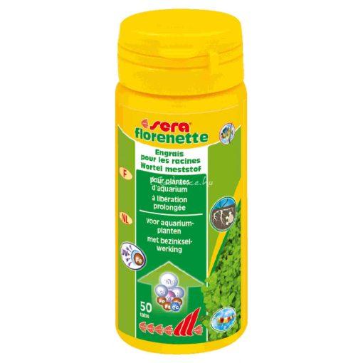 Sera Florenette A 50 tabletta Növénytáp Tabletta - 1000 liter vízhez
