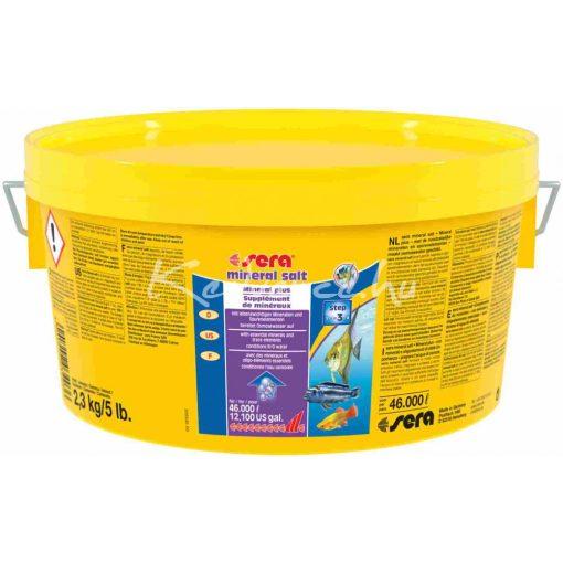 Sera Mineral Salt Vízkezelő és Vízelőkészítő 2,5 kg