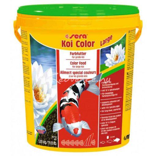 Sera Koi Color Large Tavi Haltáp 21 liter