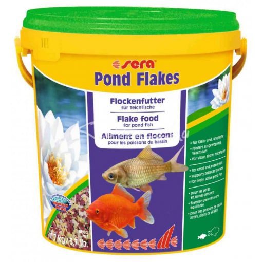 Sera Pond Bio Flakes Lemezes Tavi Haltáp 10L