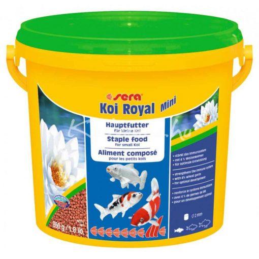 Sera Koi Royal HF Mini Tavi Hal eledel 3800 ml