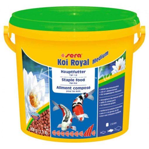 Sera Koi Royal HF Medium Tavi Hal eledel 3800 ml