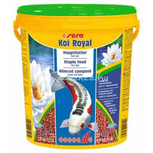 Sera Koi Royal HF Large Tavi Haltáp 21 liter