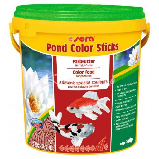 Sera Pond Color Sticks Tavi Haltáp 10liter
