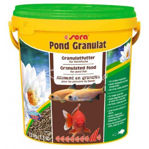 Sera Pond Bio Granulat Tavi Hal eledel 10 liter