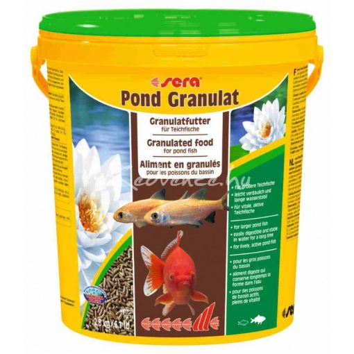 Sera Pond Bio Granulat Tavi Hal eledel 21 liter