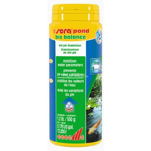Sera Pond Bio Balance Vízkezelő Kerti Tavakhoz 550gr
