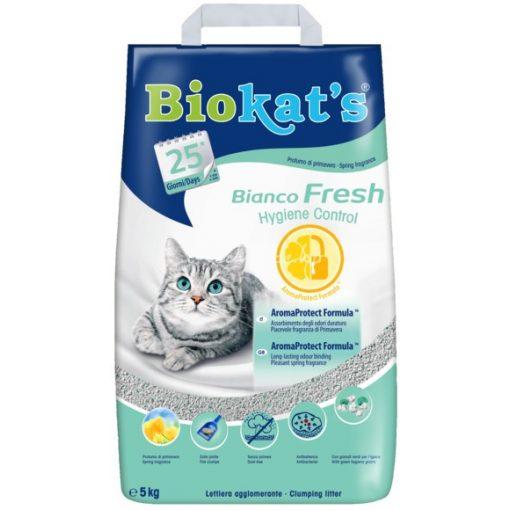 Biokat's Bianco Fresh 5kg Macska Alom