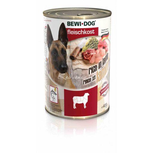 Bewi-Dog Színhús bárányban gazdag konzerv 400gr