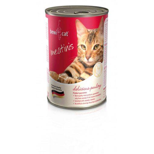 BEWI-CAT Meatinis Csirkés 400gr Macska Konzerv