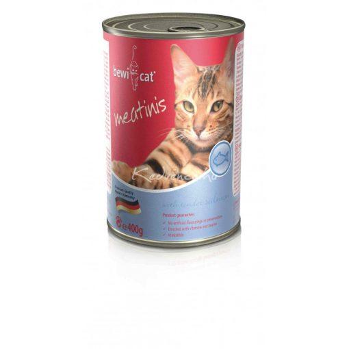 BEWI-CAT Meatinis Lazacos 400gr Macska Konzerv