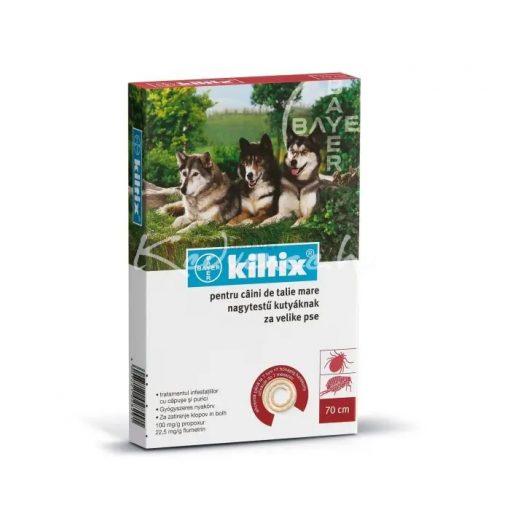 Kiltix 70cm Bolha - Kullancs Elleni Nyakörv Nagytestű Kutyáknak