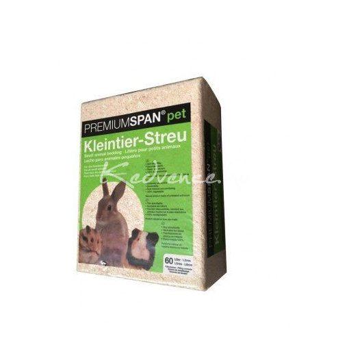 Premiumspan pet  Natur Préselt forgács 15liter
