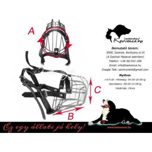 Fém Szájkosár Rottweiler Nagy