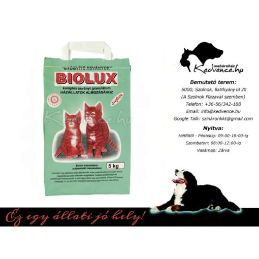 Macska Alom 5kg Biolux