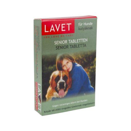 Lavet Senior Tabletta 50db Kutya Táplálékkiegészítő