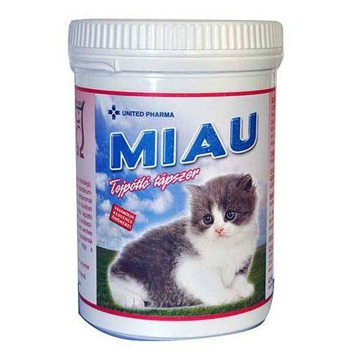 Tejpótló tápszer Macskáknak Miau tejpor 200gr