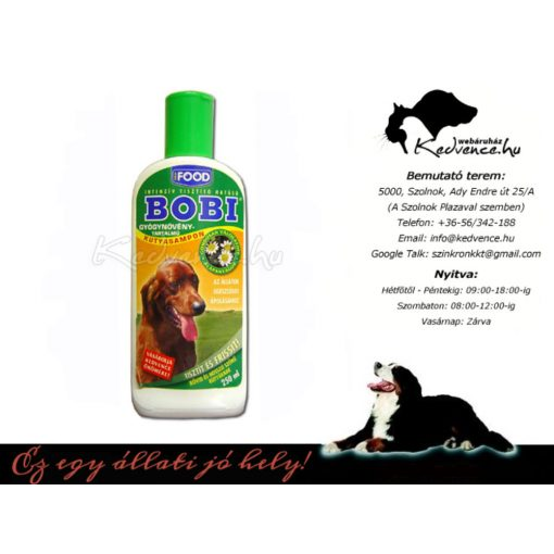 Bobi gyógynövényes Kutya Sampon 200ml