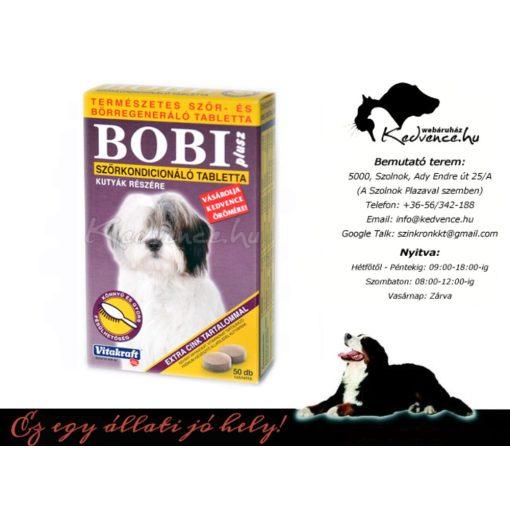 Bobi Plusz Tabletta 50db Szőrkondicionáló Bőrtápláló