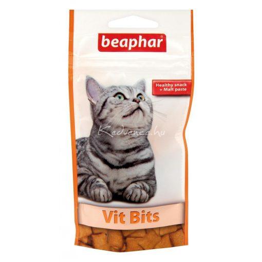 Beaphar Vit-Bits Multivitaminos Jutalomfalat macskának 35g