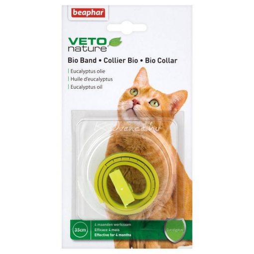 Beaphar Bio Collar Plus Illóolajos Gyógyszeres Nyakörv Macskáknak 1 nyakörv/csomag