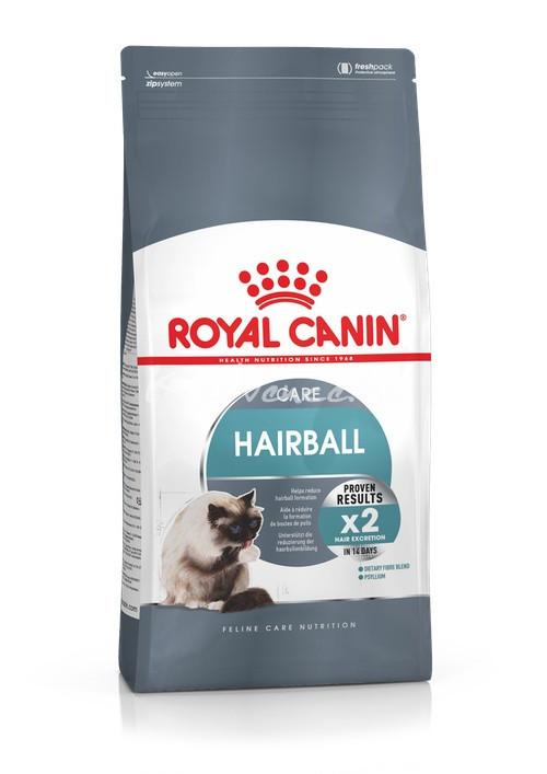 Royal Canin FCN HAIRBALL CARE 0,4kg Száraz Macskaeledel