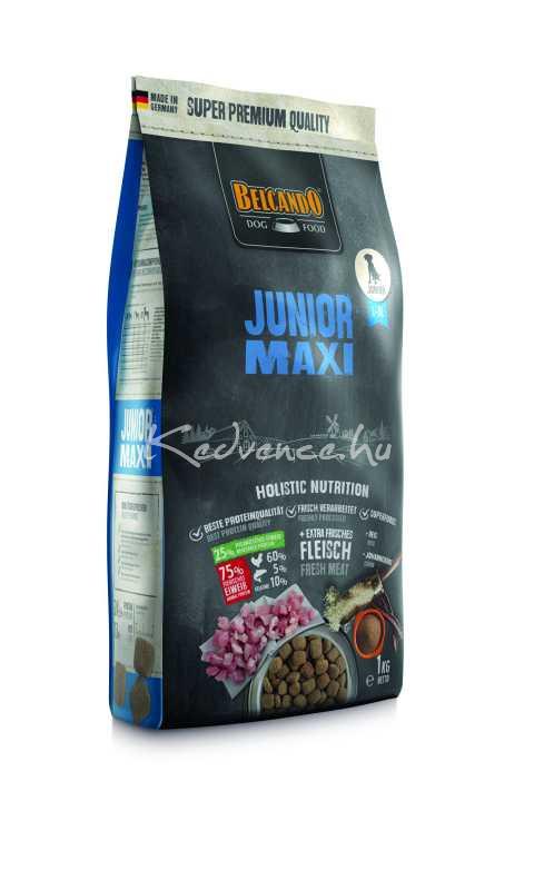 Belcando Junior Maxi Friss Hússal 1 kg Száraz Kutyaeledel(Új)